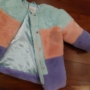 Cat & Jack Jackets & Coats - Cat & Jack Jacket Faux Fur